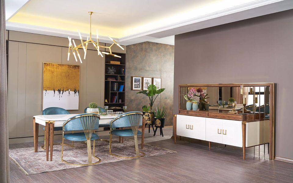 London Luxury Yemek Odası Takımı